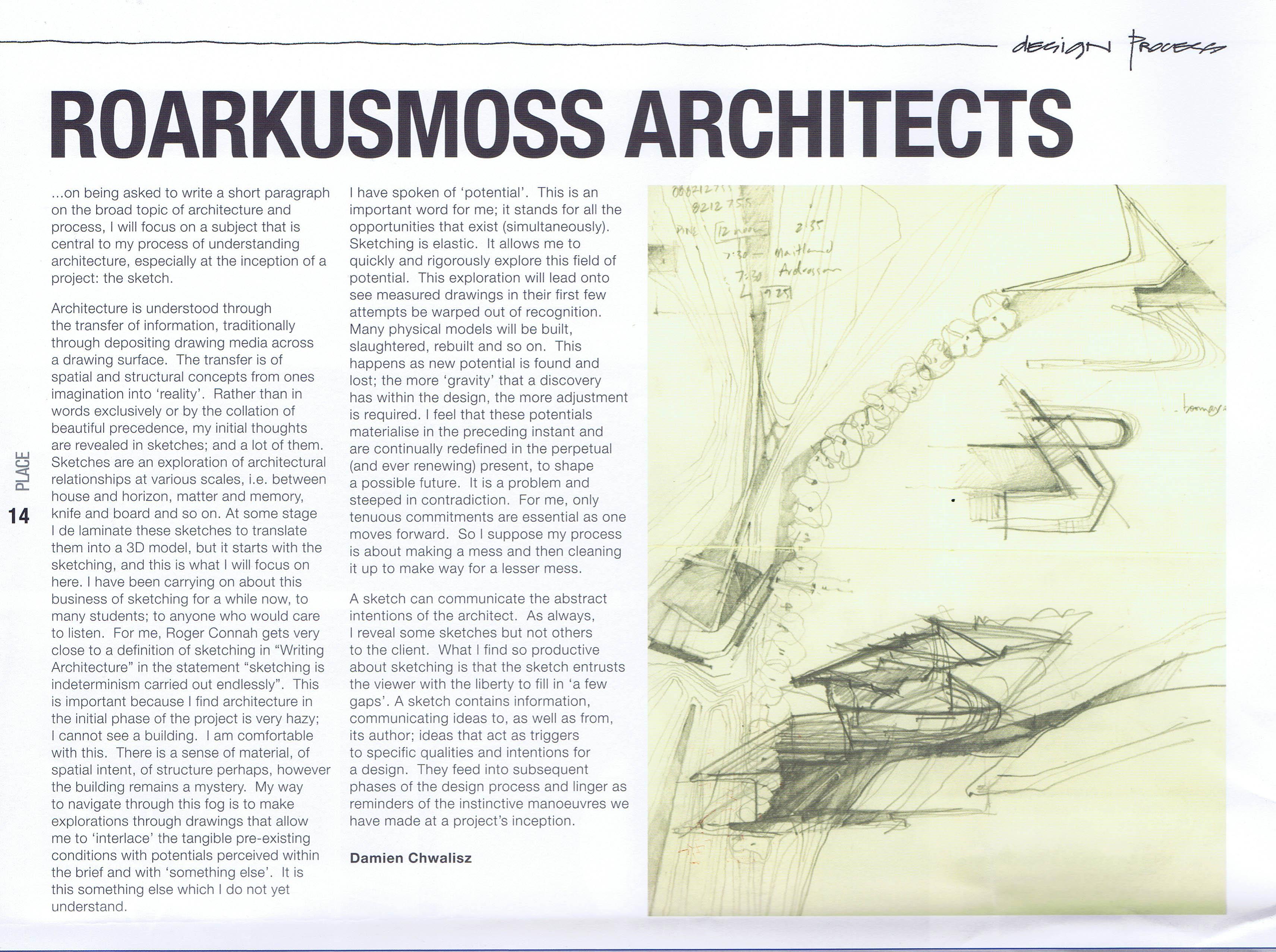 PLACE Magazine – 2009